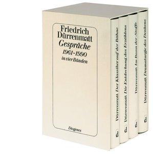 Gespräche 1961-1990 in vier Bänden