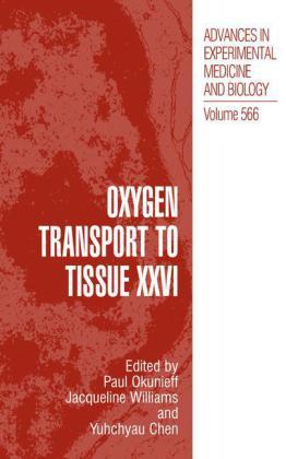 Oxygen Transport to Tissue XXVI - zum Schließen ins Bild klicken