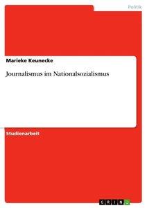 Journalismus im Nationalsozialismus