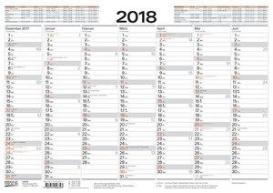 Tafelkalender A3 2018