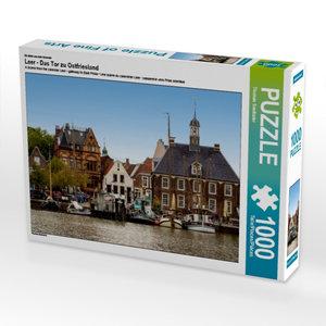 Ein Motiv aus dem Kalender Leer - Das Tor zu Ostfriesland 1000 T