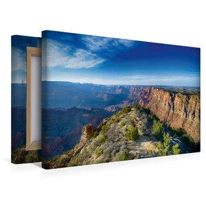 Premium Textil-Leinwand 45 cm x 30 cm quer Grand Canyon - Sunris