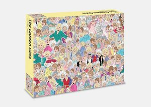 The Golden Girls Jigsaw Puzzle: A 500-Piece Puzzle to Play with