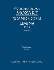 Scande Coeli Limina, K. 34 - Study Score