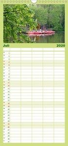 Lauschige Orte in Köln - Familienplaner hoch (Wandkalender 2020