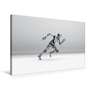 Premium Textil-Leinwand 75 cm x 50 cm quer Roboter