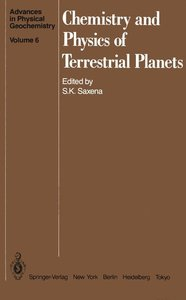 Chemistry and Physics of Terrestrial Planets