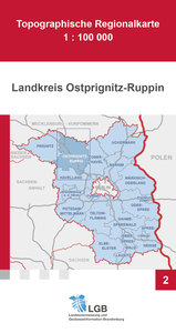 Landkreis Ostprignitz-Ruppin 1 : 100 000