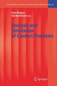Analysis and Simulation of Contact Problems