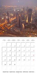Big City Skylines (Wall Calendar 2020 300 × 300 mm Square)