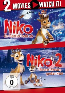 Niko - Ein Rentier hebt ab / Niko 2- Kleines Rentier, großer Hel
