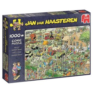 Jan van Haasteren - Bauernhof Besuch - 1000 Teile Puzzle