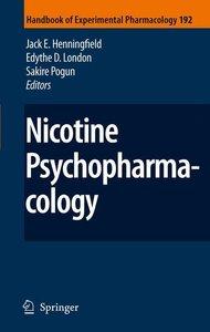 Nicotine Psychopharmacology