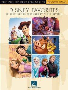 Disney Favorites (Big-Note Piano Book, Arr. by Keveren, Phillip)