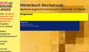 Uebersetzungen in deutsch-englisch-franzoesisch + fr-de-en + en-