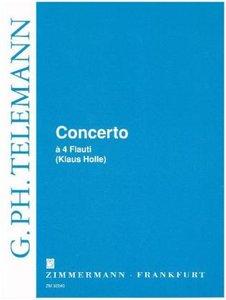 Concerto à 4 Flauti C-Dur