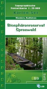 Set Biosphärenreservat Spreewald 1 : 25 000