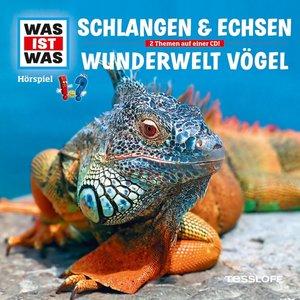 Was ist was Hörspiel-CD: Schlangen & Echsen/ Vögel