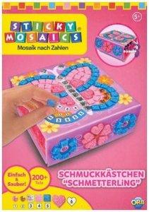"Sticky Mosaics Mini Schmuckkästchen \""Schmetterling\"""
