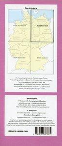 Topographische Karte der Bundesrepublik Deutschland 1 : 500 000