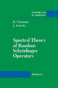 Spectral Theory of Random Schrödinger Operators