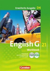 English G 21 D 4: 8. Schuljahr. Workbook