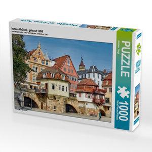 Innere Brücke, gebaut 1286 1000 Teile Puzzle quer