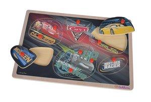 Eichhorn 100003289 - Disney Cars 3 - Steckpuzzle, 11 teilig