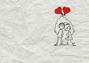 Liebesbotschaften (Posterbuch DIN A3 quer)