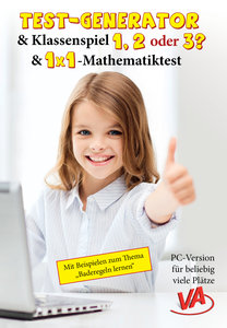 Test-Generator, Klassenspiel & 1x1-Mathetest