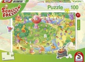 Sorgenfresser. Im Labyrinth. Puzzle 100 Teile (inkl. Poster)