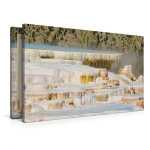 Premium Textil-Leinwand 90 cm x 60 cm quer Die Terrassen von Mam