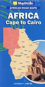 Africa East + Central + South - Cape to Cairo 1 : 4 000 000
