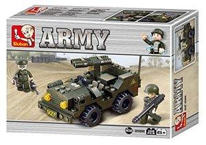 Sluban ARMY M38-B5800 - Jeep I, 102 Teile