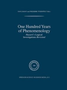 One Hundred Years of Phenomenology
