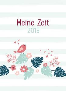 Meine Zeit 2019 (Farbenfroh)