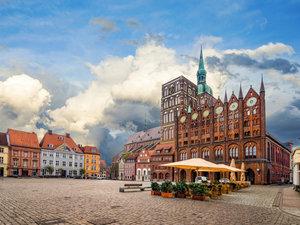 CALVENDO Puzzle Stralsund Stadtansichten 1000 Teile Lege-Größe 6