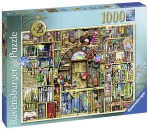 Magisches Bücherregal 2. Puzzle 1000 Teile