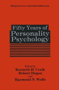 Fifty Years of Personality Psychology