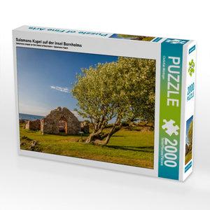 Salomons Kapel auf der Insel Bornholms 2000 Teile Puzzle quer