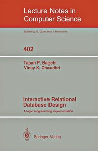 Interactive Relational Database Design