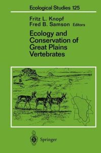 Ecology and Conservation of Great Plains Vertebrates