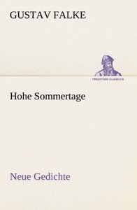 Hohe Sommertage