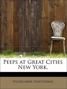 Peeps at Great Cities New York.
