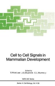 Cell to Cell Signals in Mammalian Development