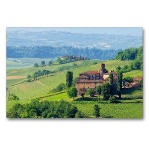 Premium Textil-Leinwand 90 cm x 60 cm quer Castello di La Volta