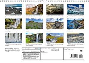 Faszination Island - Landschaftskalender 2019 (Wandkalender 2019