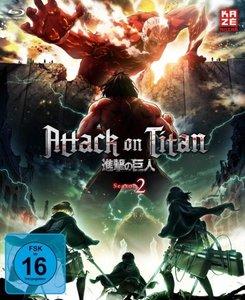 Attack on Titan. Staffel.2.1, 1 Blu-ray (mit Sammelschuber)