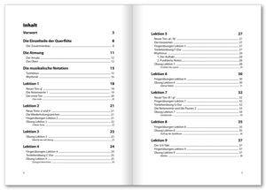 Querflöten Basics, mit Audio-CD