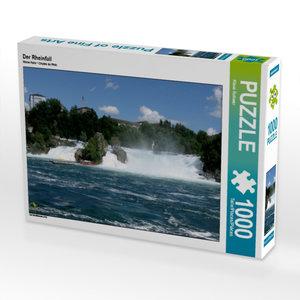 Der Rheinfall 1000 Teile Puzzle quer
